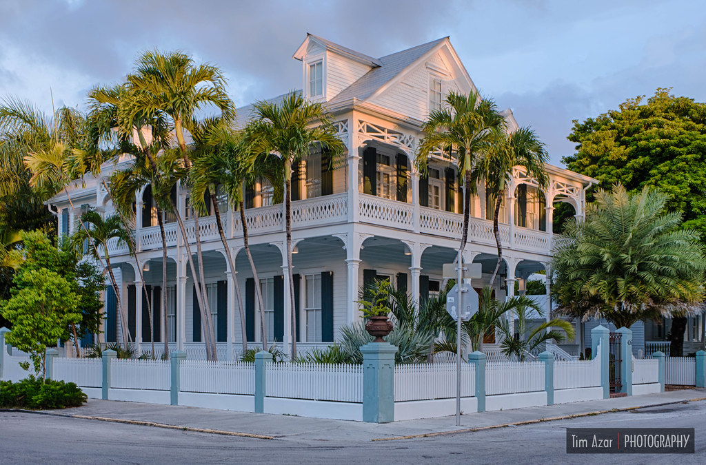 Key West Conch House The Conch House Style Of