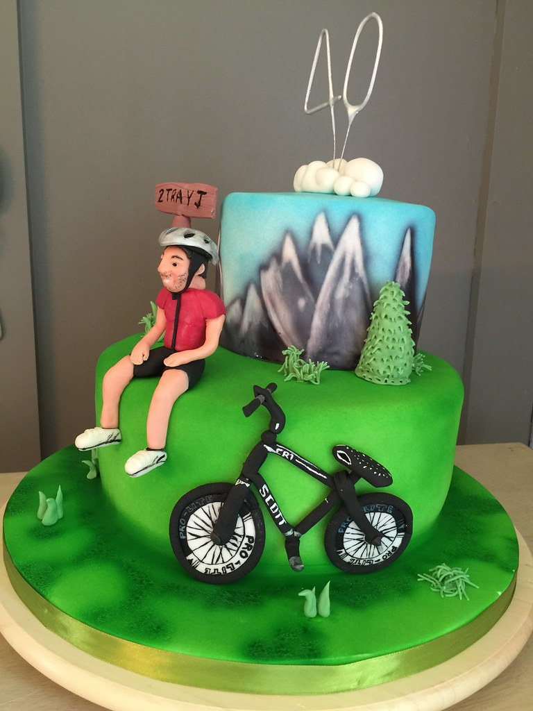 A Busy Week This Week This 40th Birthday Cake For A Keen