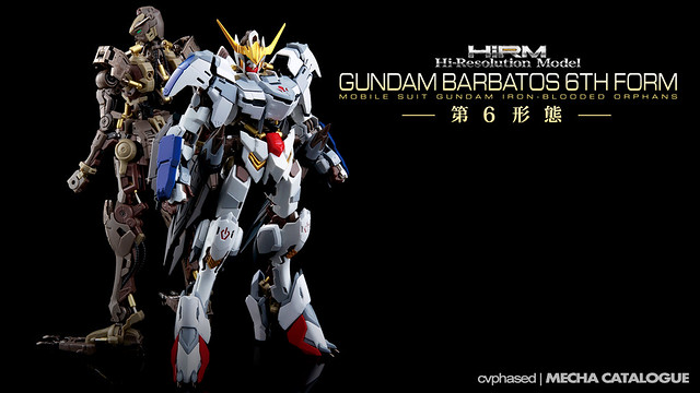 1/100 Hi-Resolution Model Gundam Barbatos 6th Form