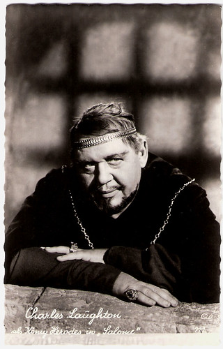 Charles Laughton in Salome (1953)