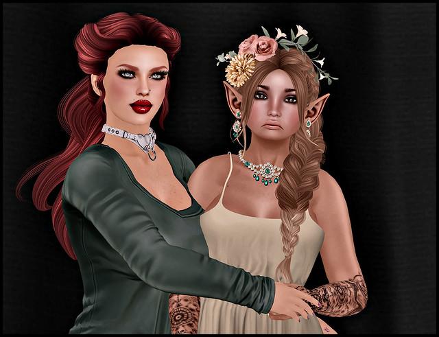 Leannan and Morgie