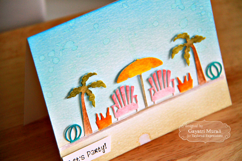 Summer Love card closeup