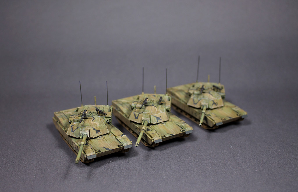 Team Yankee M1 Abrams