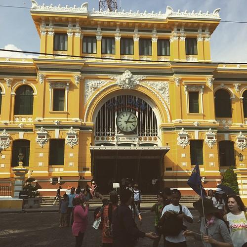 ホーチミンの郵便局#ホーチミン#ベトナム