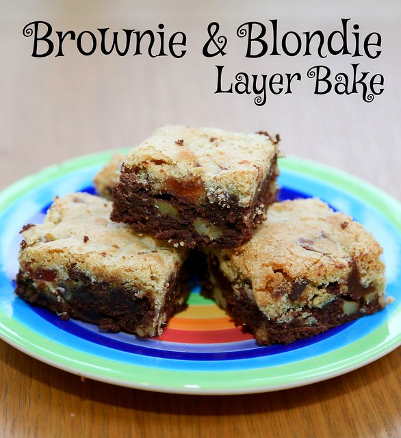 Brownie & Blondie Layer Bake