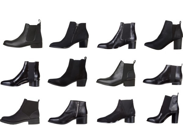 Black boots for Autumn/Winter