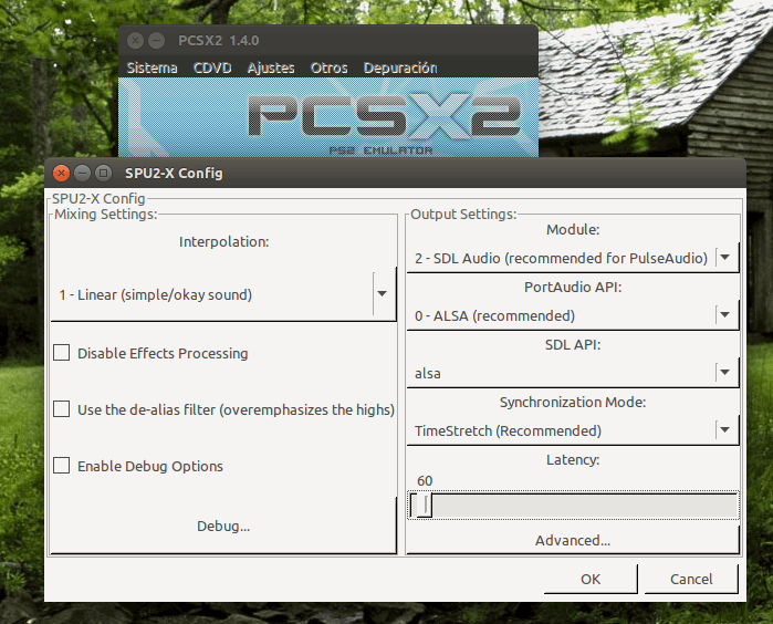 Instalando y Configurando PCSX2 en Ubuntu 16 04