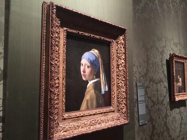 La chica de la perla en Mauritshuis (La Haya, Holanda)