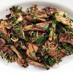 BBQ recept paddenstoelen