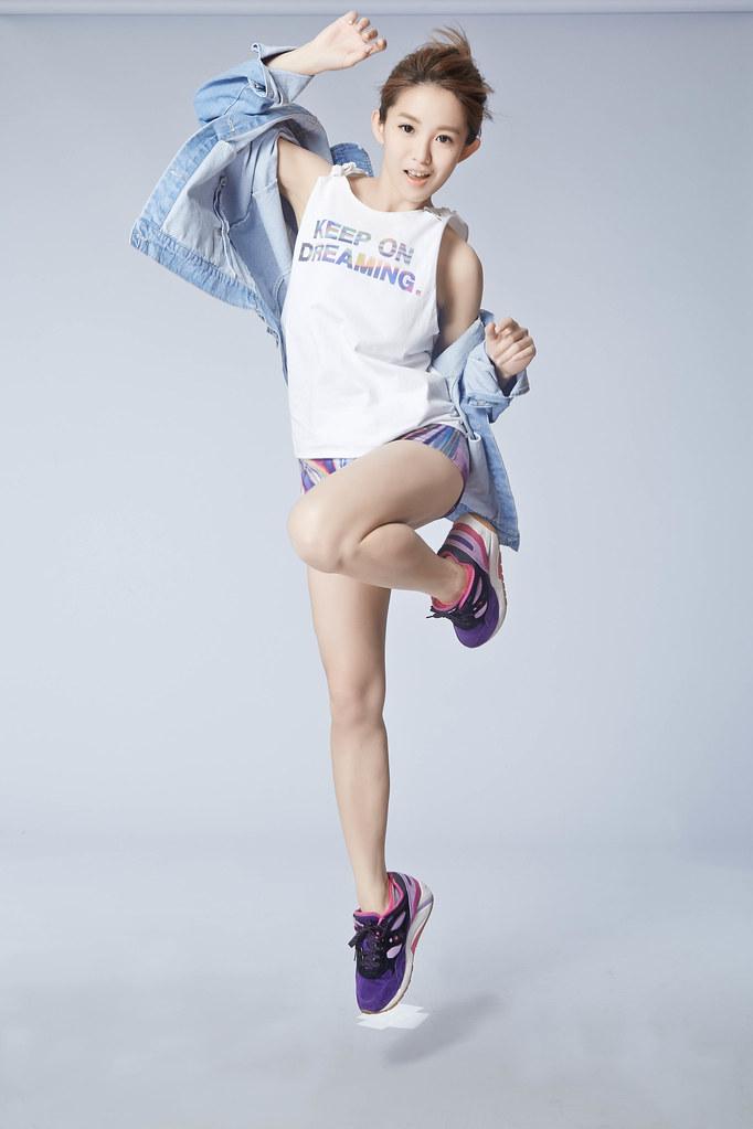 郭書瑤苦練舞蹈體力大考驗 在《舞鬥》裡大展舞技 2
