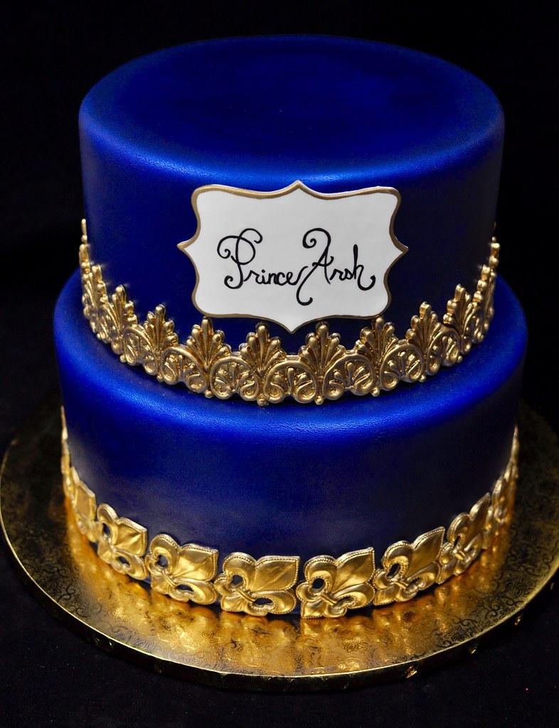 Crown Wedding Cake