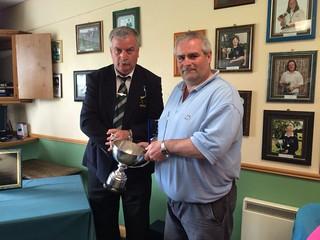 Martin Carter 2015 Leinster Intermediate Gents Matchplay Champion
