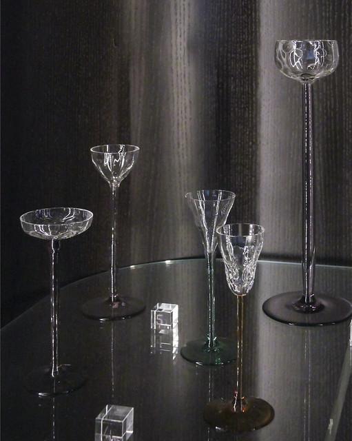 Koloman Moser, Liqueur Glasses, Vienna, ca.1900