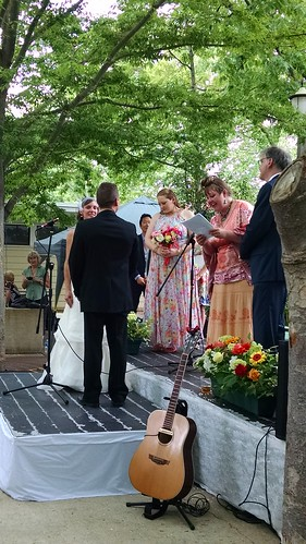 The Wedding at the Crazy Quilt Music Festival