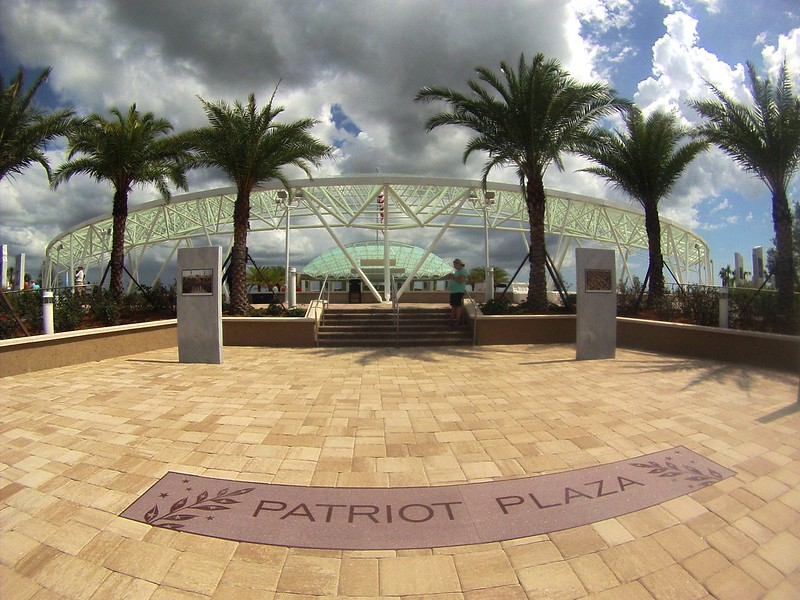 Patriot Plaza at the Sarasota National Cemetery, Sarasota, Fla., May 25, 2015