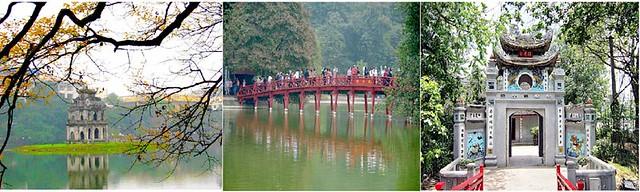 Hst_Hoan Kiem Lake & Ngoc Son Temple