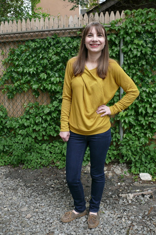 Papercut Patterns Bowline Sweater | Ginger Makes