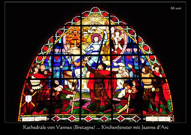Vannes (Bretagne) - Kathedrale - Cathédrale Saint-Pierre de Vannes - Foto: Brigitte Stolle 2016Vannes (Bretagne) - Kathedrale - Cathédrale Saint-Pierre de Vannes - Foto: Brigitte Stolle 2016