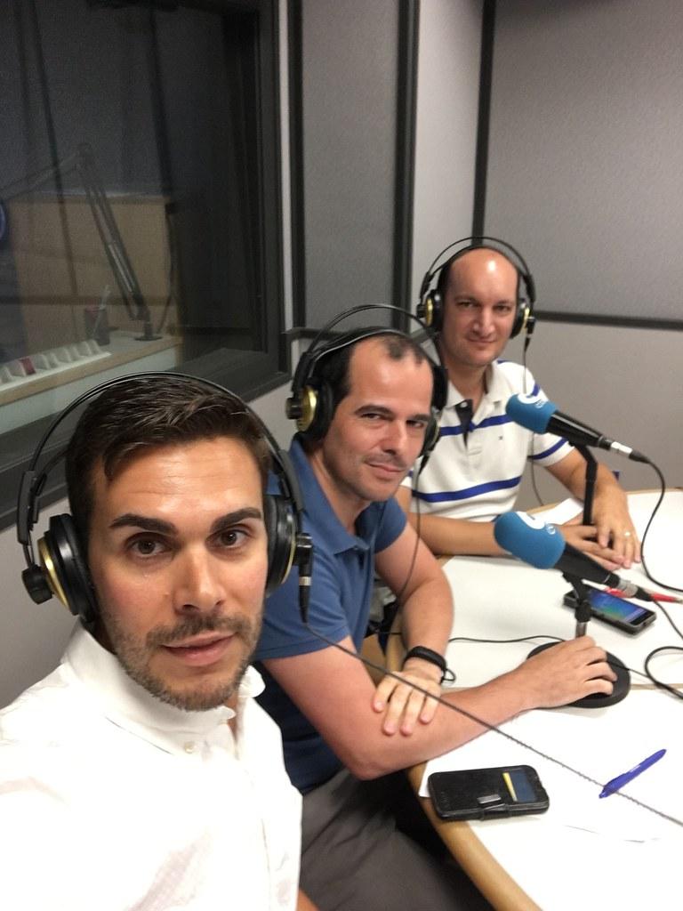 Foto 1 - Hablando de SIG, IDEs y SmartCities en el 92.6FM de COPE Valencia | geomatica | podcast.geomaticavalencia.com