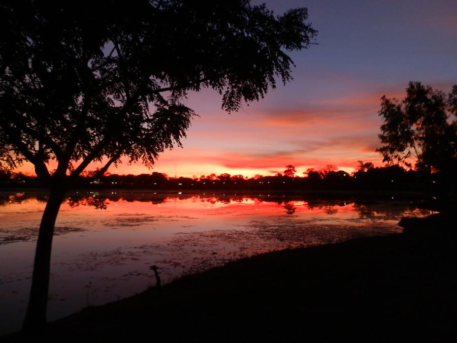 Kununurra Sunset, Lily Creek Lagoon