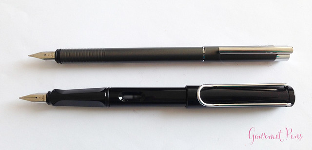 Review Lamy Logo Cliff Grey Fountain Pen @Fontoplum0 @Lamy (5)