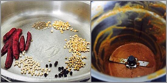 Vendakkai Puli Kuzhambu- preparation step 1