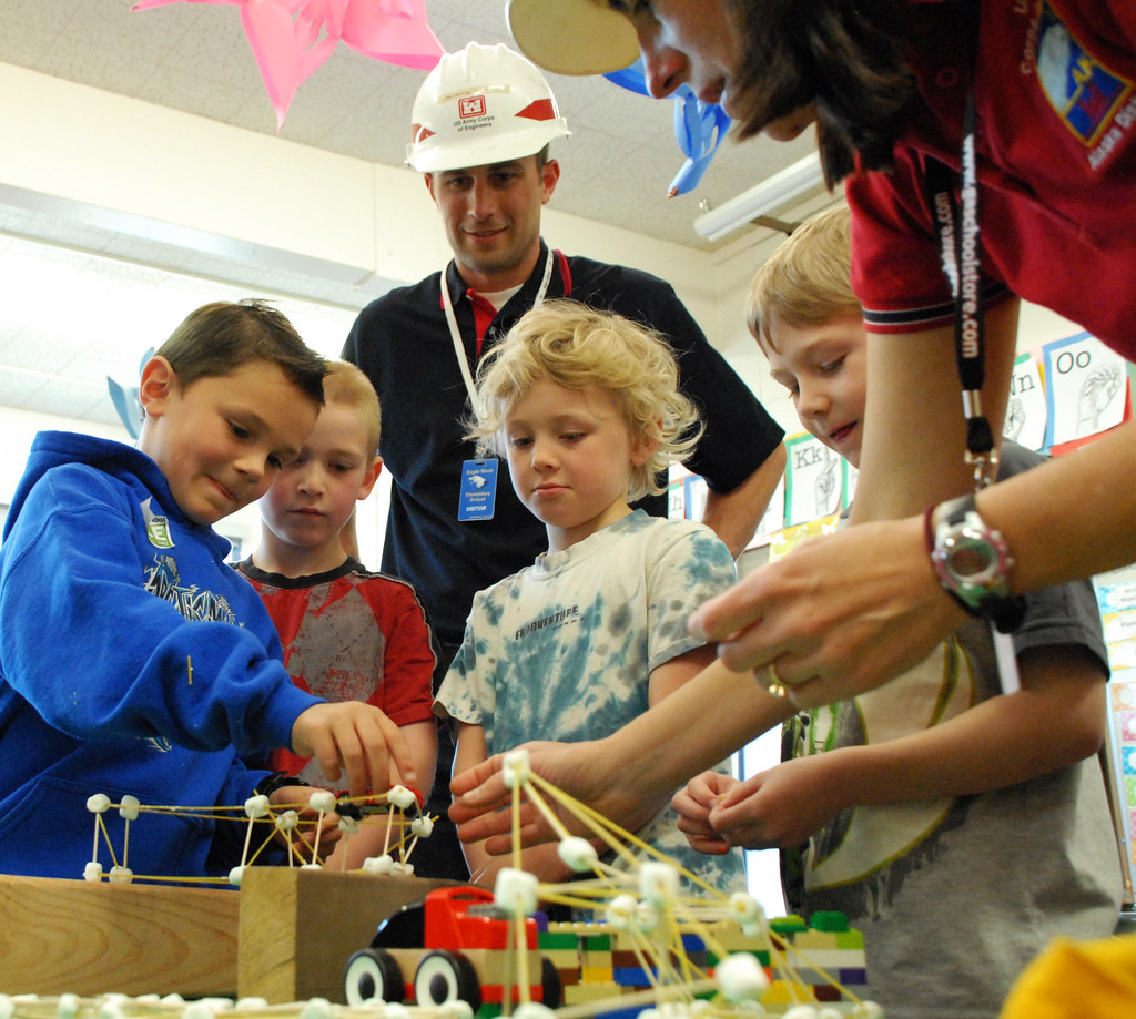 What Is A Stem Elementary School: STEM Outreach: Eagle River Elementary School 5-6-15