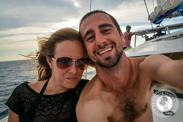 A Cruising Couple Sailing San Juan del Sur Nicaragua