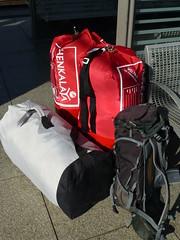 Unser Gepäck für die Nepal-Reise