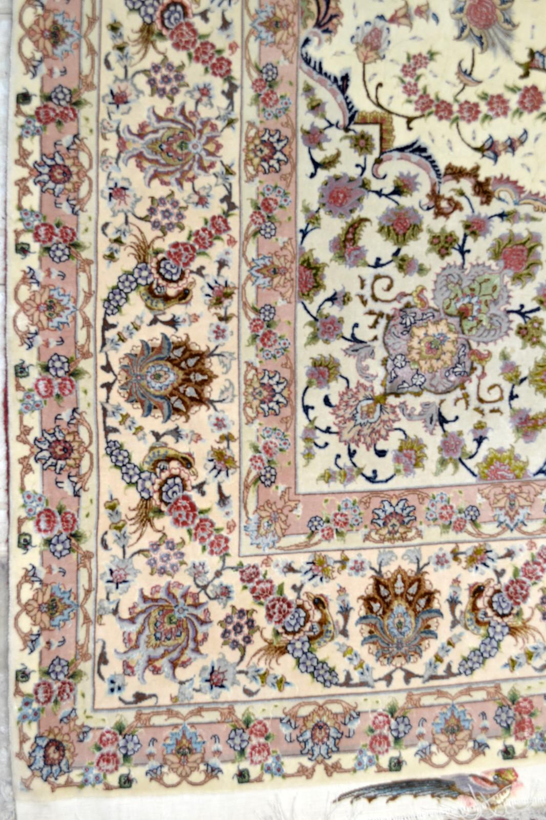 Shirfar Tabriz Persian Rug 7x10 - 70 raj (7)