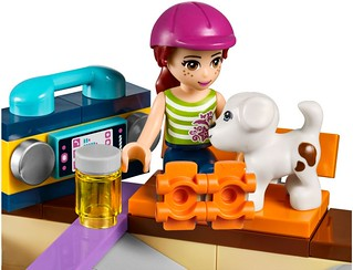 LEGO Friends 2015: 41099 - Heartlake Skate Park