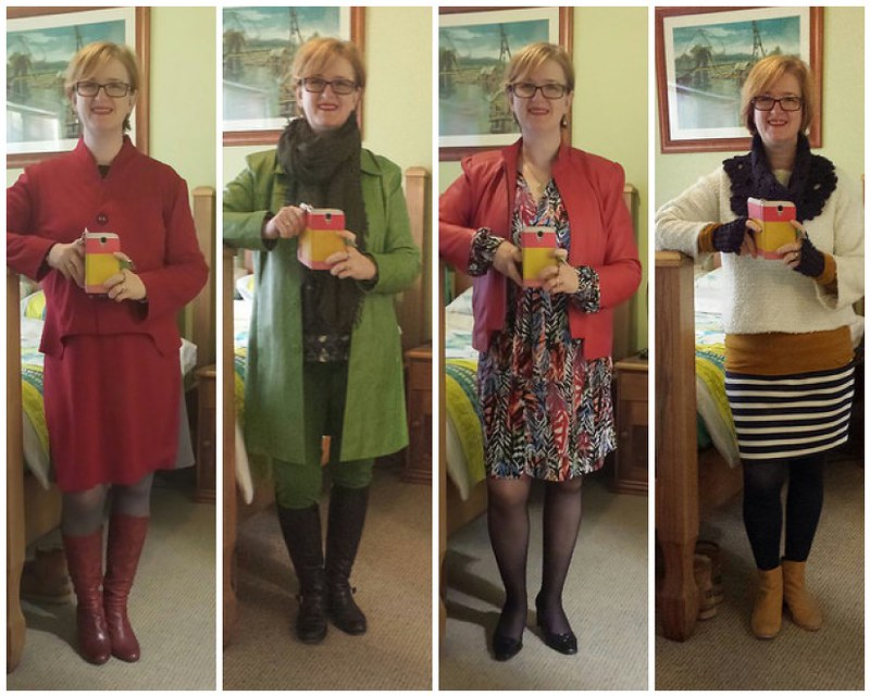 What I wore in May 2015 days 25 - 28