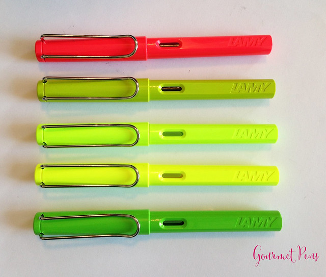 Review Lamy Safari LE 2015 Neon Lime Fountain Pen @Fontoplum0 @Lamy @LamyUSA (11)