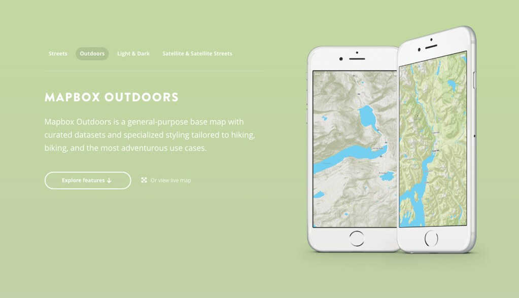 Mapbox Outdoors | Mapbox