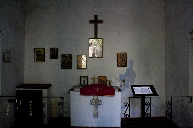 Greek Church inside Greek Cemetery Kolkata