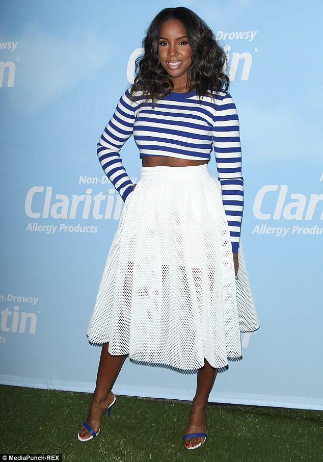 white-a-line-skirt-with-striped-cropped-top