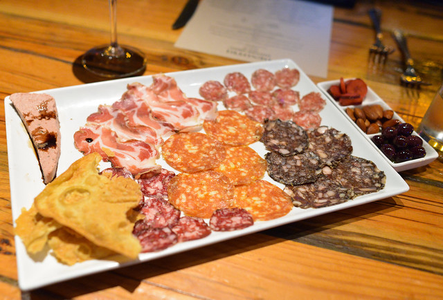 TODAY'S CHEF SELECTION OF SIX SALUMI LARDO, SICILIANO, SANT'OLCESE, PATE DELICATA, FINO, SANGUINACCIO