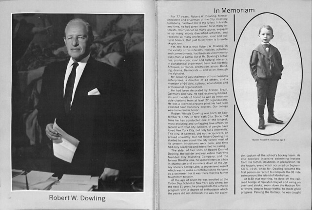 Robert Dowling in 1974 Yearbook