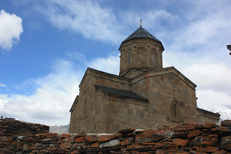 Троицкая церковь Казбеги