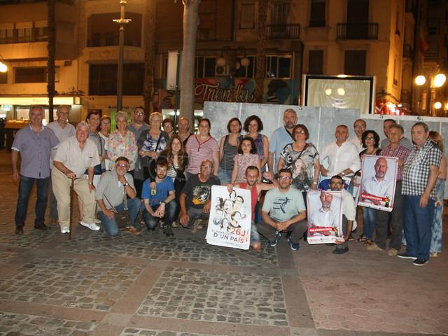 Alzira pegada de carteles
