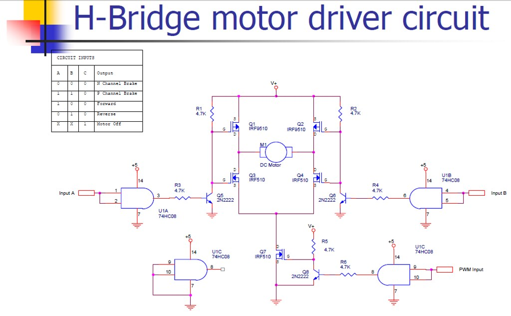 Dc Motor Control Systems By Rick Bickle 1172003 Flickr