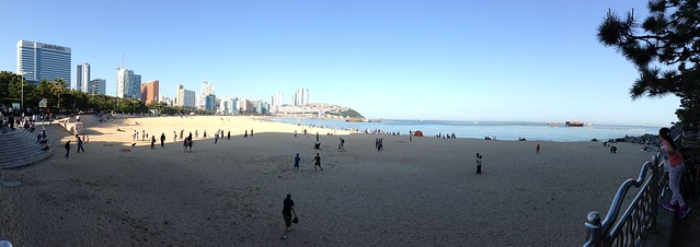 Panoramic Haeundae Beach