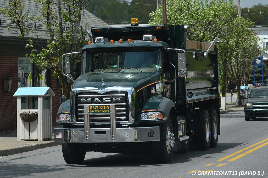 Mack Granite GU813 Tri Axle Dump Truck Trucks, Buses, & Trains ...