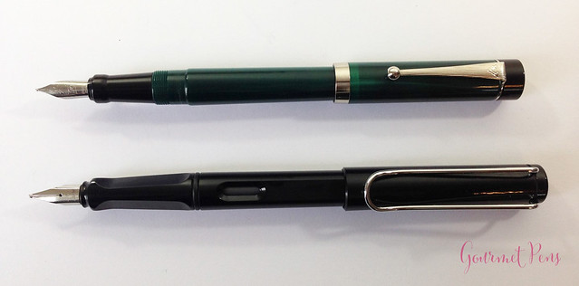 Review Visconti LE Classic Green Fountain Pen @CouronneDuComte (7)
