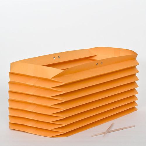 Akordion Origami Lampshade from NANA ZOOLAN - Yellow