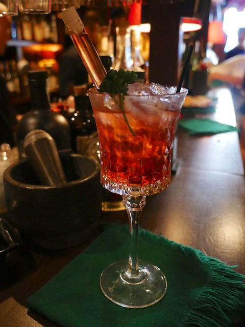 Nottingham Forest Negroni