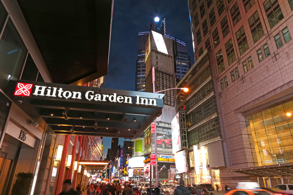 Hilton Garden Inn Times Square Central New York City Us Flickr