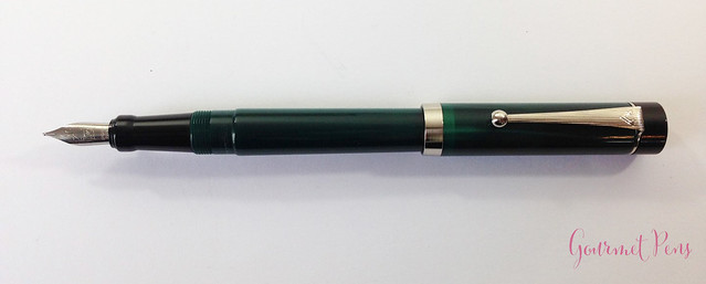 Review Visconti LE Classic Green Fountain Pen @CouronneDuComte (8)