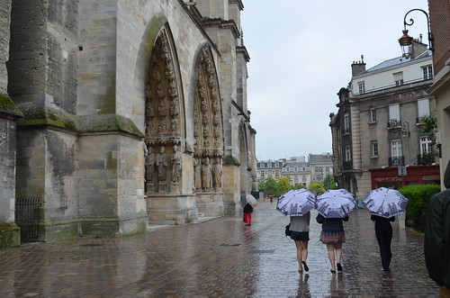 Umbrellas in Reims, France