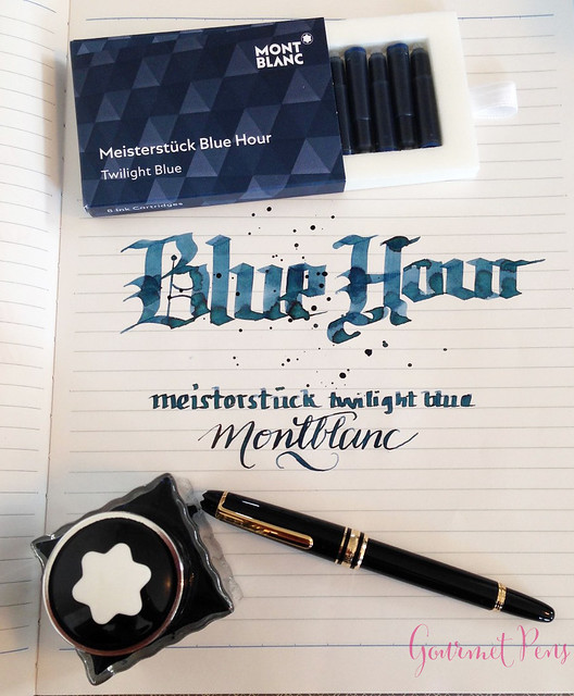 Ink Shot Review Montblanc Meisterstuck Blue Hour Twilight Blue (3)